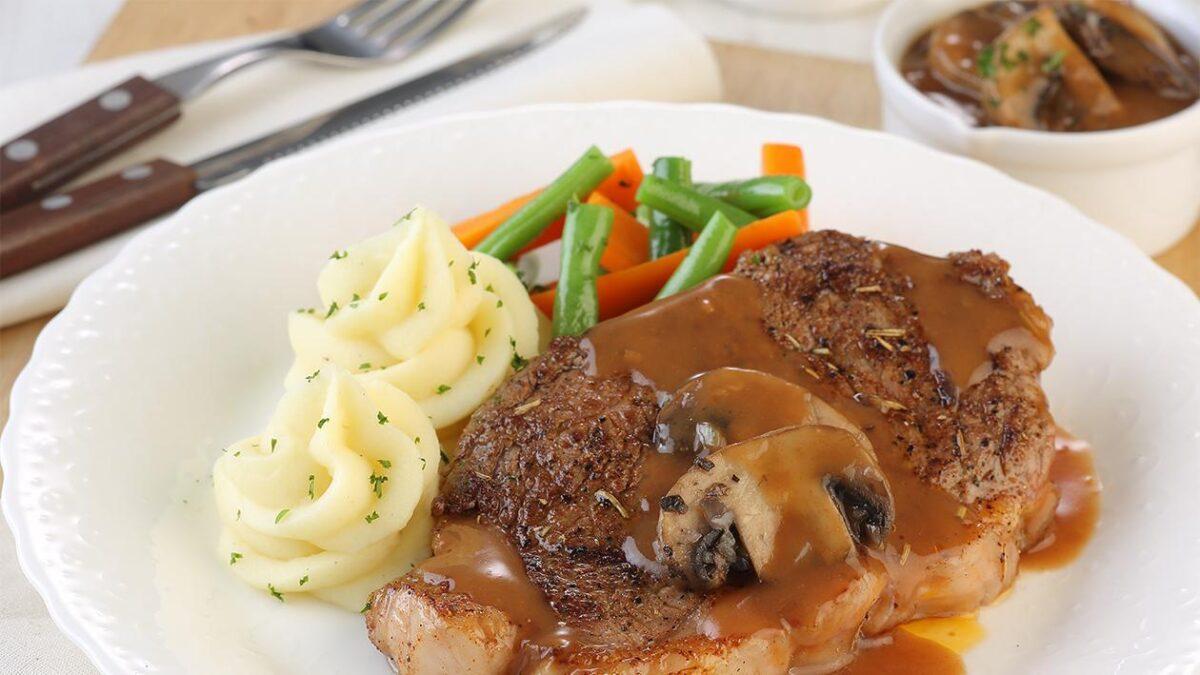 cara membuat steak daging sapi sederhana