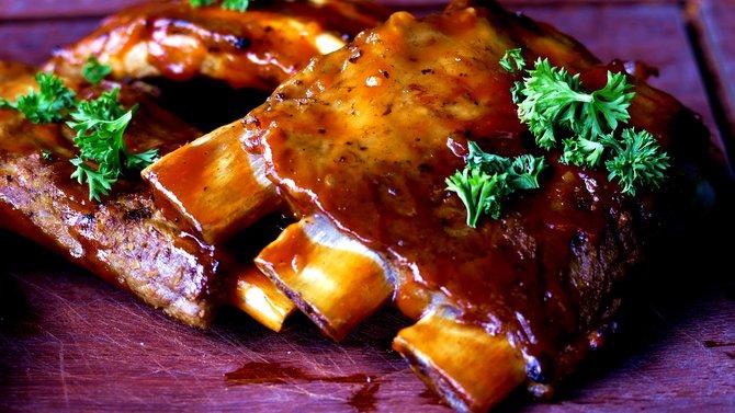 bumbu barbeque daging sapi bakar