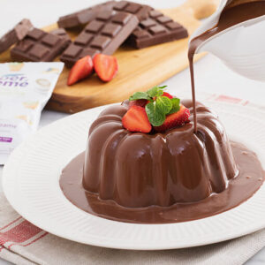 cara membuat puding coklat sederhana