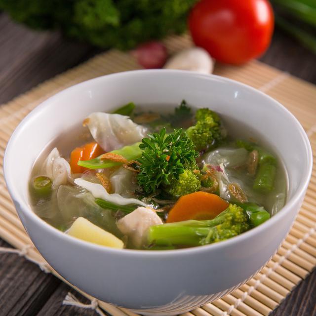 resep sayur sop bakso enak dan gurih