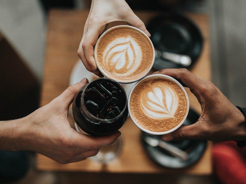 cara membuat kopi kekinian